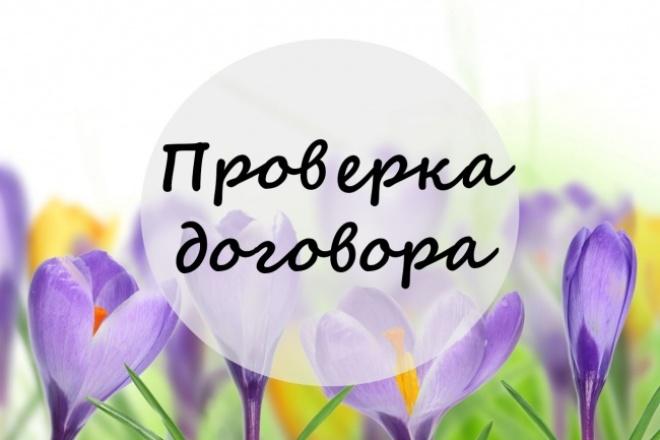 проверю Ваш договор 1 - kwork.ru