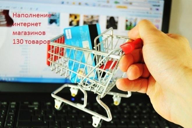 Наполнение интернет-магазинов 1 - kwork.ru