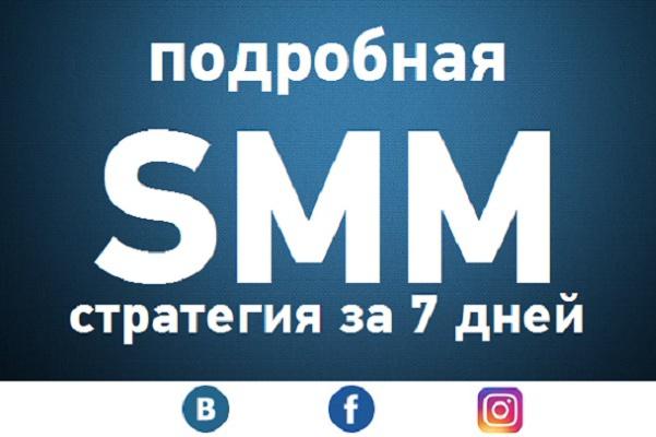 создам стратегию продвижения в социальных сетях 1 - kwork.ru