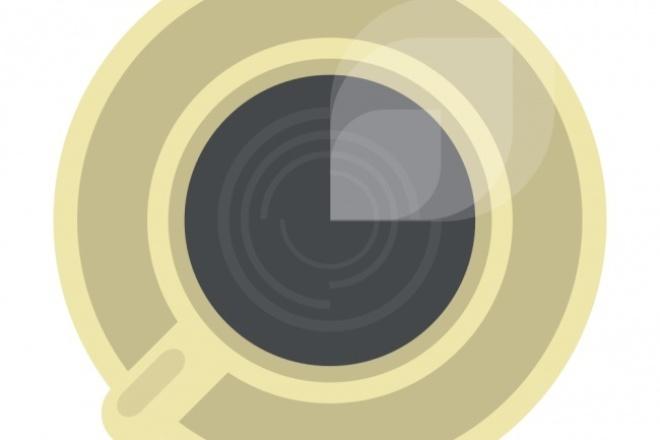 Нарисую простой логотип 1 - kwork.ru