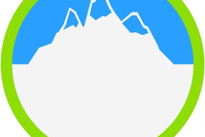нарисую простой логотип 2 - kwork.ru