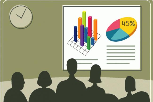 Сделаю презентацию на любую темуПрезентации и инфографика<br>Создаю качественные презентации в PowerPoint. Вы получите уникальную работу по Вашим требованиям и материалам. Если все же у Вас будут нарекания по работе, я в кратчайшие сроки внесу изменения, которые соответствуют изначальному заданию.<br>