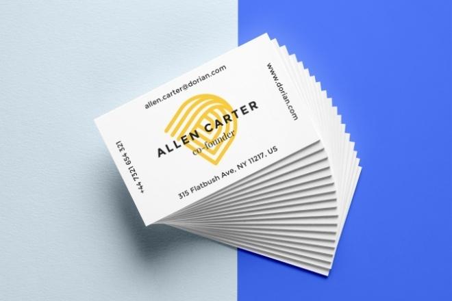 Дизайн визиткиВизитки<br>Сделаю дизайн визитки за один кворк. Постоянным клиентам бонусы. Возможность применить любое цветовое решение, которое вы захотите.<br>