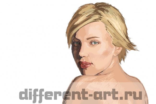 Напишу портрет в стиле Digital-Art 1 - kwork.ru