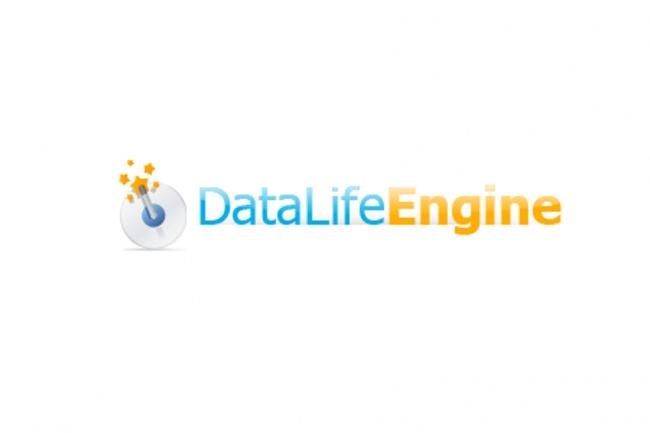 Настройка Вашего сайта на CMS DataLife Engine 1 - kwork.ru