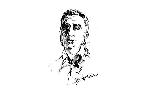 нарисую портрет тушью 1 - kwork.ru