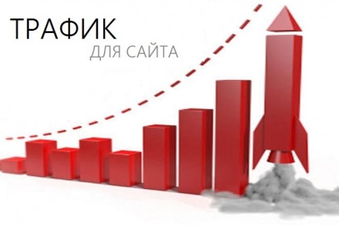 1000 посетителей на ваш сайтТрафик<br>Обеспечу 1000 уникальных посетителей на ваш сайт из нужного вам региона России или из других стран.<br>