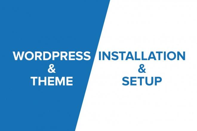 Установка последней версии CMS WordpressАдминистрирование и настройка<br>Получите от меня за кворк: 1. Хостинг на 1 месяц , на моем хостинге; 2. Домен в зоне ru ; 3. Установленный Wordpress ; 4. Выбор на ваше усмотрение шаблона ; 5. Установка плагинов на ваше усмотрение; 6. Консультация если необходимо;<br>