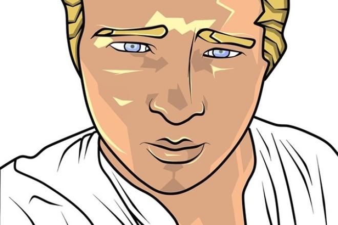 Нарисую портрет по вашей фотографииИллюстрации и рисунки<br>Доброго времени суток. Нарисую портрет по вашей фотографии: - Быстро; - Недорого; - Качественно; - Во время работы вы можете проверить работу и внести свои коррективы.<br>
