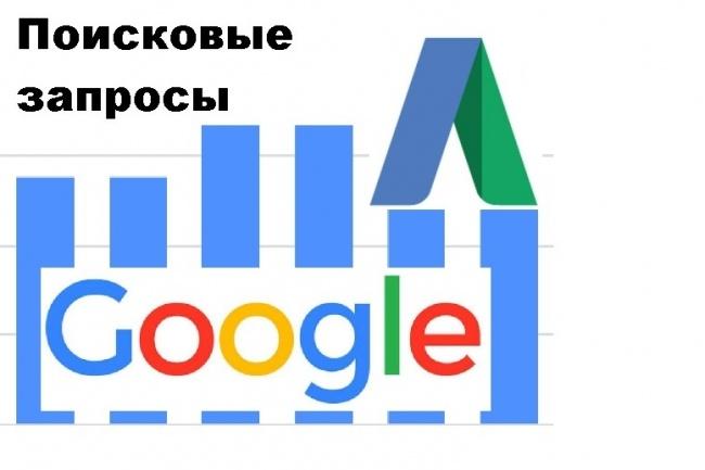 Соберу поисковые запросы из Google по выбранной тематике 1 - kwork.ru