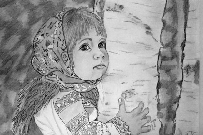 Нарисую портрет и любой рисунок с фото 1 - kwork.ru