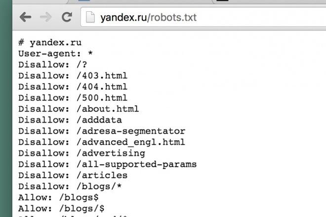 создам или настрою robots.txt и sitemap.xml 1 - kwork.ru