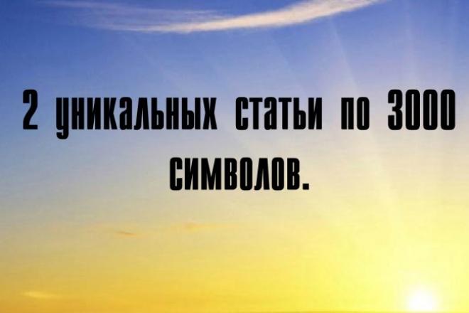 Напишу 2 уникальные и качественные статьи 1 - kwork.ru