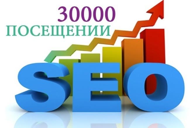 30000 просмотров + 4000 в подарок 1 - kwork.ru