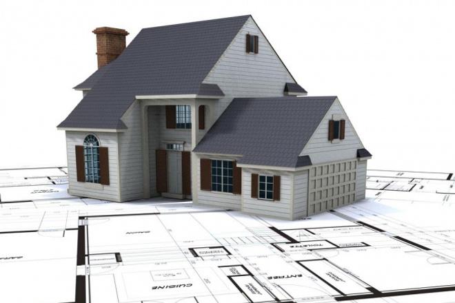 3d модель зданияФлеш и 3D-графика<br>Сделаю модель без текстур (либо с таковыми как опция), проектируемого жилого дома 200 - 300 кв.м., магазина, заправки и т.д. по вашим чертежам, либо с фото.<br>