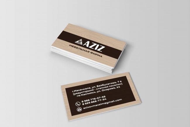 Сделаю дизайн (визитных карточек) 1 - kwork.ru
