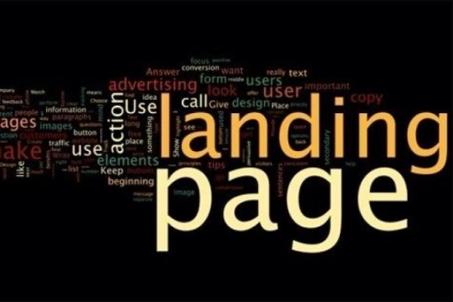 Продам 100 Landing Page 1 - kwork.ru