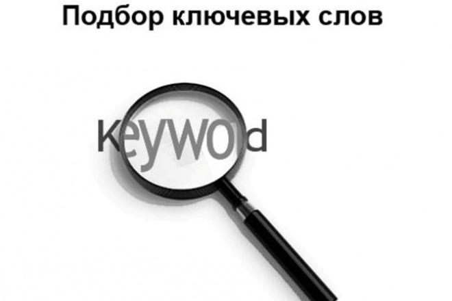 Подберу ключевые слова для вашего сайта 1 - kwork.ru
