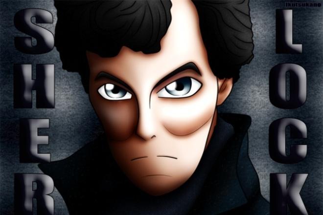 Быстро создам арт портрет в аниме стиле 1 - kwork.ru