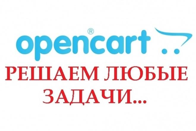 Доработаю, настрою сайт на OpenCart OcStore. Всегда грамотное решение 1 - kwork.ru