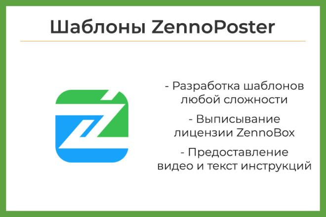 Автоматизация процессов. Разработка шаблонов ZennoPoster, ZennoBox 15 - kwork.ru