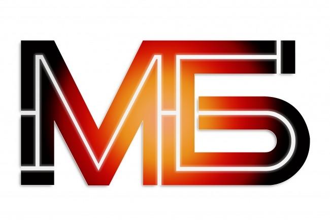 Дизайн двубуквенных логотипов, включая вариант для наружной рекламы 1 - kwork.ru