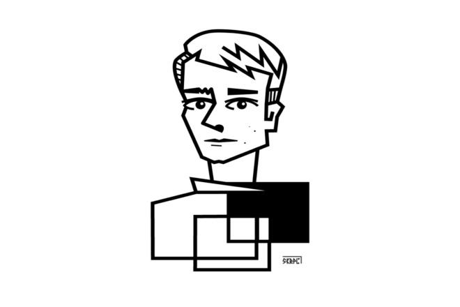 Новый взгляд на себя - портрет в стиле НЕОкубизм 1 - kwork.ru