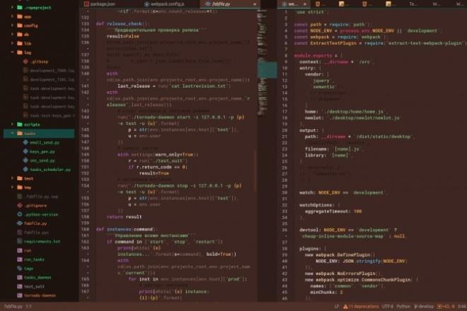 Напишу скрипт Python, Bash в Linux за 500 руб