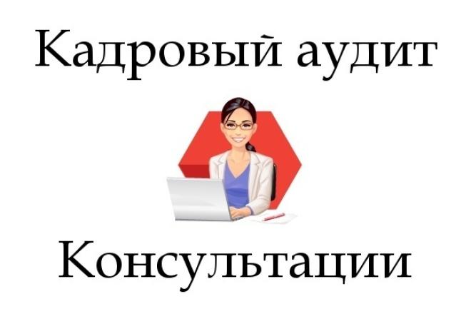Кадровый аудит. Консультации 1 - kwork.ru