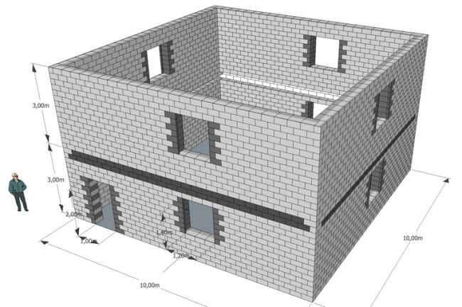 Расчет теплоблоков для строительства Вашего дома,коттеджа 1 - kwork.ru