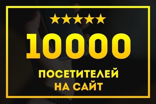 Программа 10000 посетителей на ваш сайт каждый день + 1500 ссылок 1 - kwork.ru