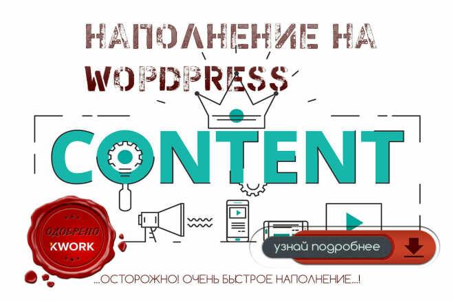 Наполнение сайта товарами на WordPress 1 - kwork.ru