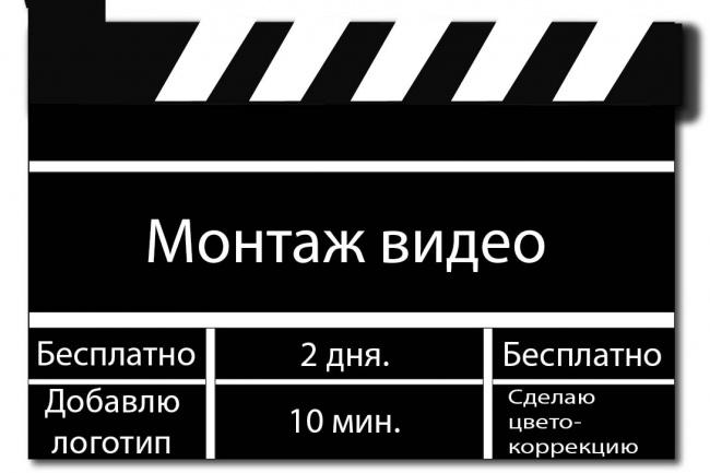 Профессиональный монтаж видео + цветокоррекция 1 - kwork.ru