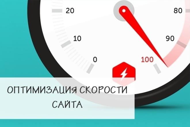 Оптимизация скорости загрузки сайта 1 - kwork.ru