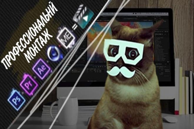 Профессиональный монтаж 1 - kwork.ru