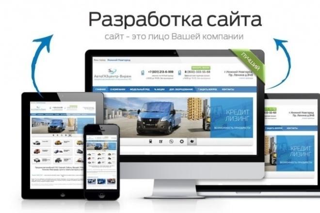 Разработка сайтов и бизнес порталов под ключ 1 - kwork.ru