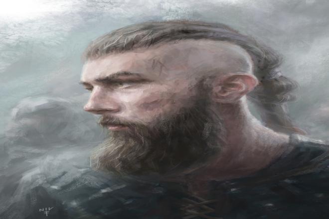 Сделаю портрет в любом сетинге. От викинга, до киборга 1 - kwork.ru