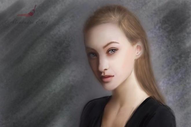 Нарисую портрет по фотографии 1 - kwork.ru