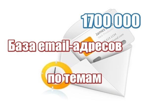 База электронных почтовых адресов по темам 1 - kwork.ru