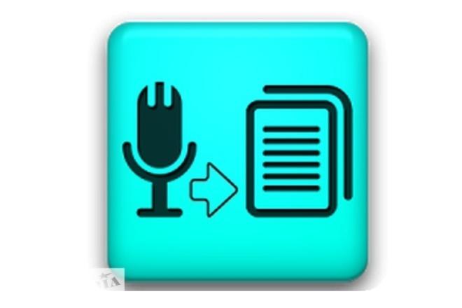 Переведу аудио и видео в текстовый формат. Быстро и  Качественно 1 - kwork.ru