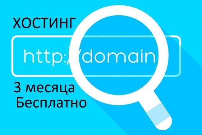 Хостинг-тест на три месяца + зарегистрирую или найду Вам домены с ТИЦ 1 - kwork.ru
