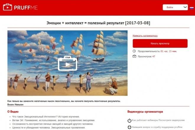 Помогу провести Ваши тренинги в виде вебинаров 1 - kwork.ru