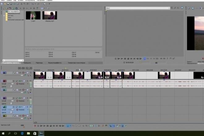 Монтаж видео, обрезка, склейка, наложение звука 1 - kwork.ru