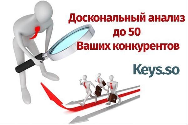 Соберу все ключи с сайтов ваших конкурентов. До 50 сайтов в 1 кворке 1 - kwork.ru