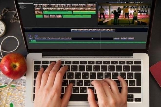 Сделаю монтаж видеоматериалаМонтаж и обработка видео<br>Сделаю монтаж видеороликов по вашей смысловой идеи. Сделаю качественно, без резких переходов и рассинхронизации. Рад сотрудничеству.<br>
