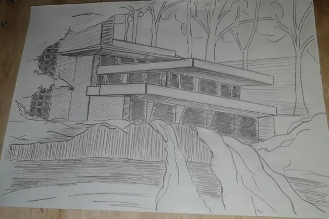 Нарисую рисунок карандашом 1 - kwork.ru