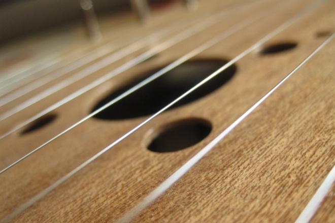 Запишу гусли, электрогуслиАудиозапись и озвучка<br>Запишу звук гуслей акустических либо с датчика, 11 струн, струны из телефонного кабеля, аутентичный звук, придумаю партию. Не слишком сложно.<br>