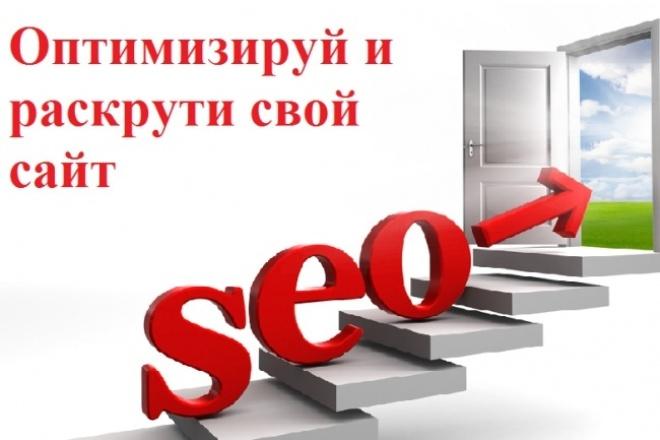 Комплексная профессиональная внутренняя SEO оптимизация сайта 1 - kwork.ru