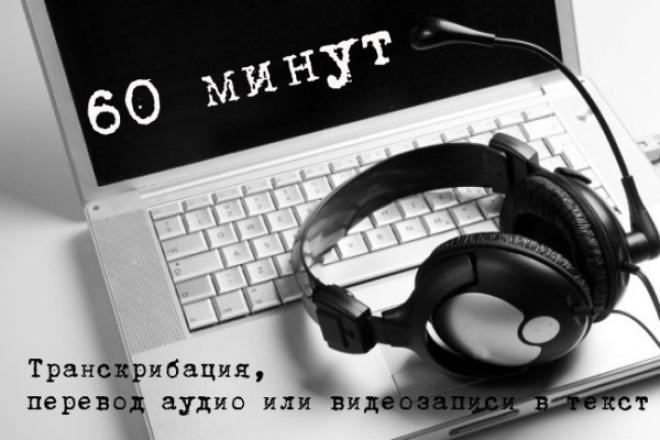 Быстро и грамотно наберу текст с аудио или видео файлов 1 - kwork.ru