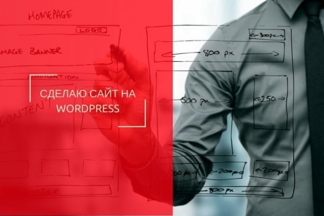 Сделаю сайт на вордпресс WordPress 1 - kwork.ru